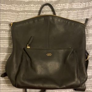 Vince Camuto Leather Backpack